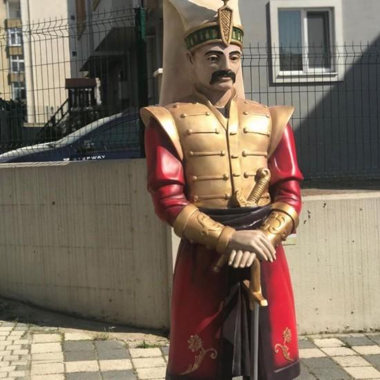 Ottoman Soldier Sculpture