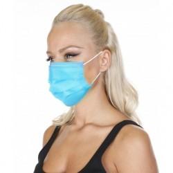 Wholesale Ultrasonic Surgical Mask Blue 3 Ply 50pcs