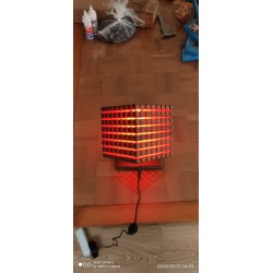 Wooden Accessory Red Light