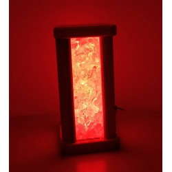Wooden Handmade Red Light Home Accesory